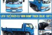 LOT# 152 ISUZU ELF MINI DUMP TRUCK (BLUE - 10FT)